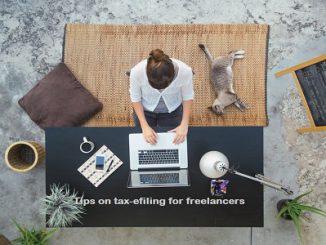Tax E-filing for freelancers
