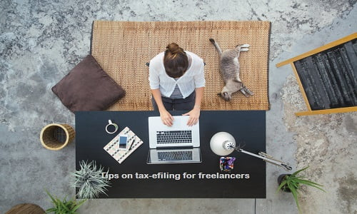 Tax E-filing for freelancers