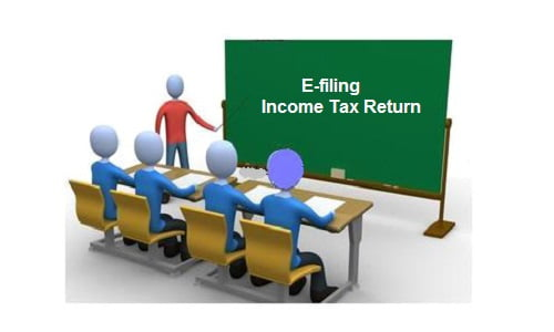 e-filing income tax return