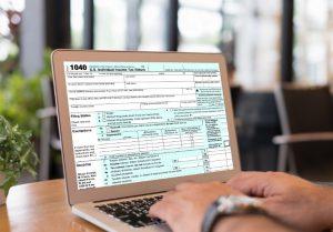 Income tax return filing online