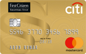 First Citizen Citibank Titanium Credit Card