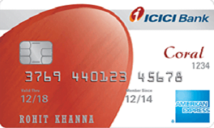 ICICI Coral American Express Credit Card