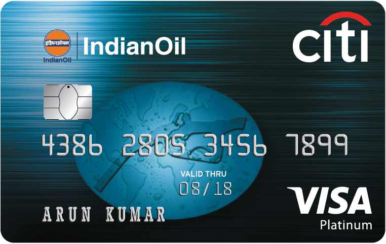 Indian Oil Platinum Citi Credit Card