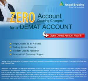 Demat Account with Angel Broking