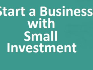 Own Business with Small Investment