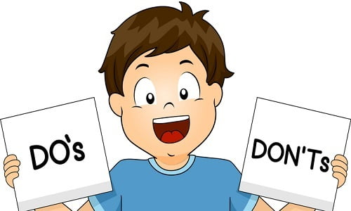 Stock Market Dos and Don'ts